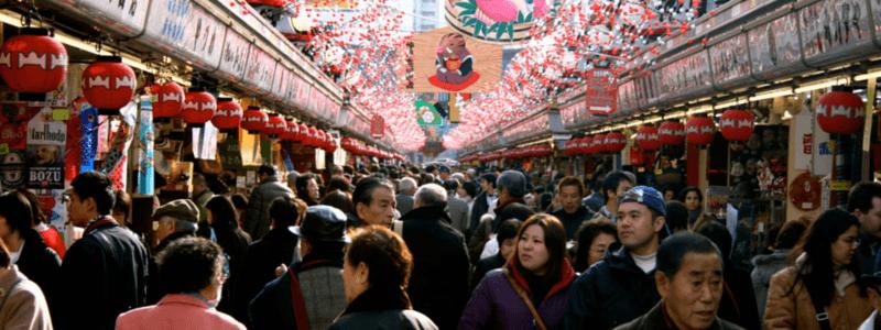 hoofdstad Japan tokyo asakusa