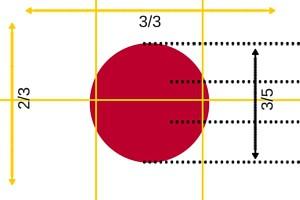 Japanse vlag afmetingen