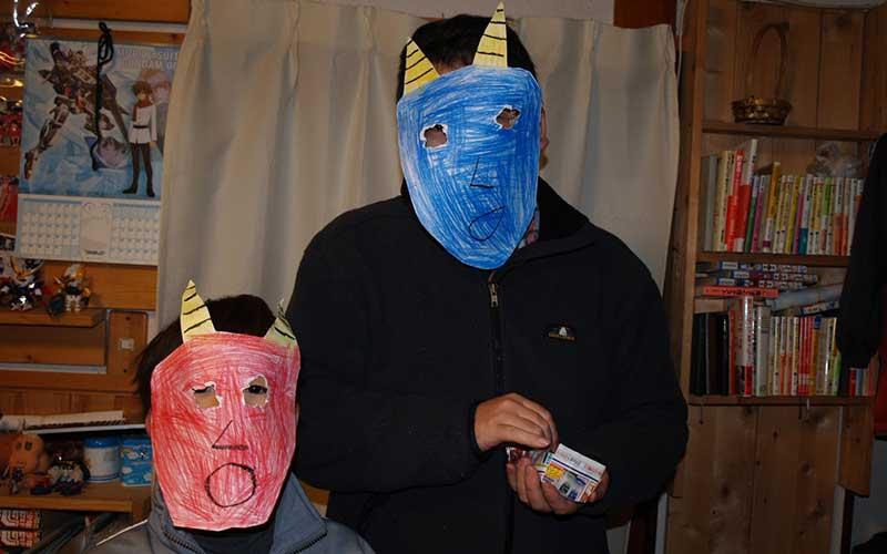setsubun oni masker